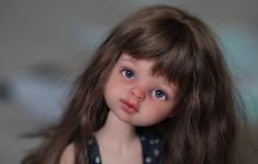 Сравнение. Паолочка на родном теле и на теле бжд Доллмор / Куклы Паола Рейна, Paola Reina / Бэйбики. Куклы фото. Одежда для кукол