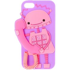 Sheila Robot Phone Case- iPhone 5/5S/SE (650 MXN) ❤ liked on Polyvore featuring accessories and tech accessories