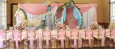 Ultimate Princess Party - difficult to duplicate - but amazing inspiration
