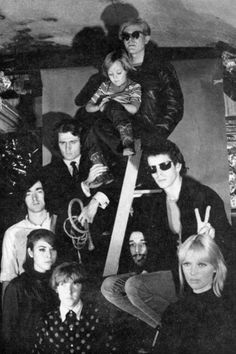 Velvet Underground with Andy Warhol's Factory