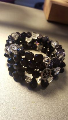 Black and cristal