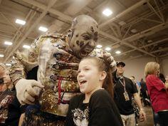 Photos: Killer zombie cosplay, 'Walking Dead' stars at Walker Stalker Con Dallas