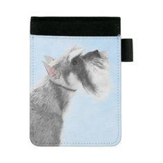 #Schnauzer 3 mini padfolio - #miniature #schnauzer #puppy #schnauzers #dog #dogs #pet #pets #cute #miniatureschnauzer