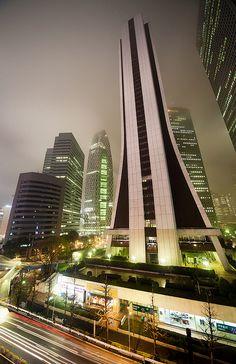 Shinjuku skyscrapers : Tokyo, Japan by Miguel Michán, via Flickr