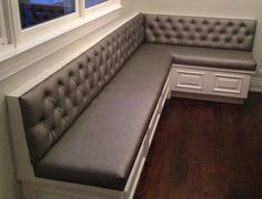 Kitchen Booth Seating #3 - Dining Banquette Bench Seating