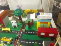 Maquete: cidade sustentavel
