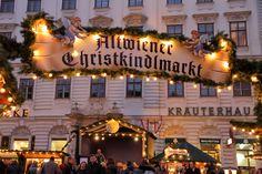 Altwiener Christkindlmarkt at Freyung in Vienna