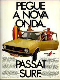 Anúncio Passat Surf - 1978