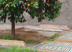 Saadian tombs of Marrakesh.