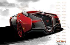 Concept cars and trucks: Farrari and Bugatti concepts by John Mark Vicente