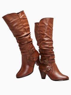 High boots - want for fall Tall Boots, High Boots, Boot Shop, Riding Boots, Wedges, Handbags, Clothes For Women, My Style, How To Wear