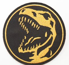 Mighty Morphin Power Rangers Iron on Patch by Patchplanet on Etsy Sew On Patches, Iron On Patches, Power Rangers Halloween Costume, Power Rangers Logo, Rex Costume, Red Lizard, Iron On Badges, Mighty Morphin Power Rangers, Tyrannosaurus Rex