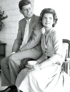 "http://en.wikipedia.org/wiki/Jacqueline_Kennedy_Onassis   http://en.wikipedia.org/wiki/John_F._Kennedy   HE SAID ABOUT HIS WIFE Her Husband John F. Kennedy .That  ..............President Kennedy was once asked to describe his wife in one word. He responded ""MAGICAL.""❤♥❤ ......"