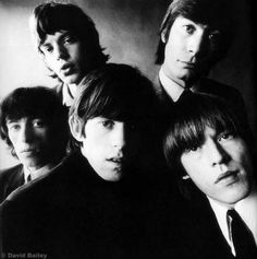 The Rolling Stones...David Bailey