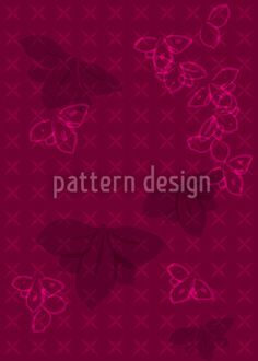 Orchidea by Martina Stadler available as a vector file on patterndesigns.com