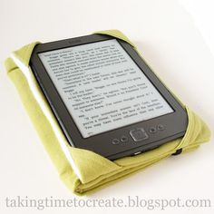 Taking Time To Create: Make Your Own Kindle Cases {Christmas Gift Idea}