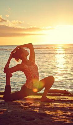 Ocean side Yoga