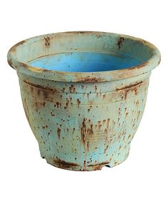 Take+a+look+at+this+Blue+Tapered+Planter+on+zulily+today!