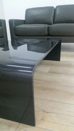 Carbon Fiber Coffee Table - modern style