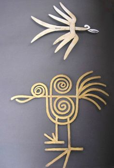 """blueberrymodern: """" alexander calder bird brooches from the book the intimate…"""