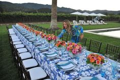 Napa Valley Alfreco Dinner Party