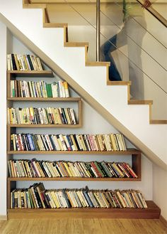 Pod schody | Chatař & Chalupář Future Library, Basement, New Homes, Stairs, Storage, Inspiration, Home Decor, Staircase Walls, Places