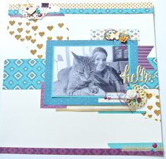 Cards and Scrapping, Bohemian DSP, Stampin Up