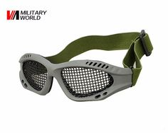 Camping & Hiking Back To Search Resultssports & Entertainment Collection Here High Quality Hunting Tactical Paintball Goggles Eyewear Steel Wire Mesh Airsoft Net Glasses Shock Resistance Eye Game Protector Attractive And Durable