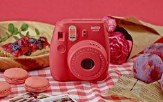 Fujifilm Instax Mini 8 Instant Camera (Pink) (Discontinued by Manufacturer) Instax Mini 8 Camera, Instax Film, Fujifilm Instax Mini 8, Fuji Instax, Camara Fujifilm, Camera Photos, Polaroid Photos, Instant Film Camera, Camera Hacks