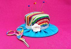 Alfiletero sombrero payaso