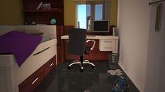 Nuevos detalles en la coleccion Laia de Utrilla mobiliario http://www.utrillamobiliario.com/ #muebles #renders #juveniles #furniture  #madeinspain