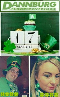 Patricks Day 2015 - From all of us at Dannburg Floor Coverings, especially our two Irish Employees Paddy & Bernice. Have a good one everyone - Cheers. Paddys Day, Happy St Patricks Day, Other People, Showroom, Cheers, Irish, Abs, Flooring, 6 Pack Abs