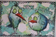 ida's creativiteiten: happy birds