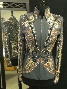 Really cool Showmanship Jacket from Dry Creek Designs