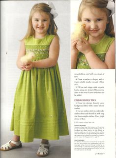 Sew Beautiful Martha Pullen Smocking Issue July/Aug 2004 Heirloom Sewing Crafts - Baby & Children's Clothing