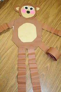 monkey craft for young children