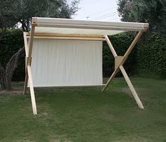 Pergola Ideas For Deck Deck With Pergola, Wooden Pergola, Pergola Plans, Gazebo, Pergola Ideas, Market Stall Display, Market Stalls, Shade Tent, Pergola Shade