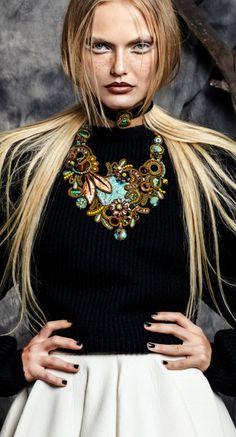 Dori Csengeri necklace | AIBIJOUX, Fashion jewelry