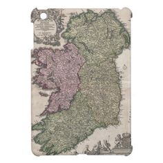 Vintage Map of Ireland (1716) iPad Mini Case