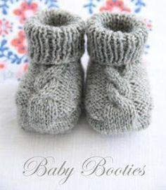 Baby Knitting Patterns Yarn Knitting instructions for baby booties for free knitting – Bootie knitting Baby Booties Knitting Pattern, Easy Knitting Patterns, Crochet Baby Booties, Knitting For Kids, Knitting Socks, Baby Patterns, Free Knitting, Knitting Projects, Knit Crochet