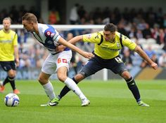 Lee Novak  in action against QPR. September 2013. #BCFC