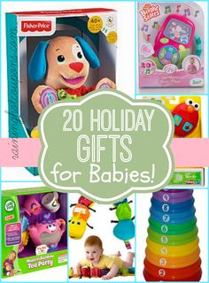 20 Holiday Gift For Babies = Awesome Deals!