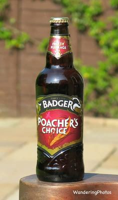 Wandering Photos - Badger - Poacher's Choice Ale (5.7%) - Hall & Woodhouse Brewery Blandford St. Mary Dorset England