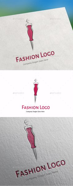 Fashion Logo • Available here → http://graphicriver.net/item/fashion-logo/15405485?ref=pxcr
