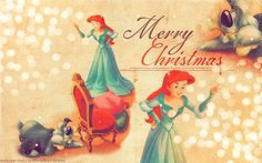 Wallpaper Of Cinderella S Christmas Disney Princess For Fans