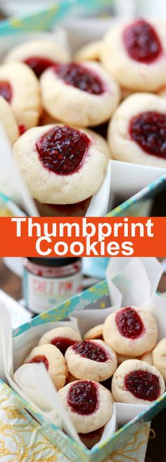Thumbprint Cookies – Best, buttery and sweet cookies filled with raspberry jam. Easy recipe that anyone can make this holiday season | rasamalaysia.com
