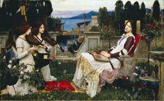John William Waterhouse: Saint Cecilia, 1895.