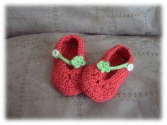 Wabaki : encore des petits chaussons de bébé au crochet - Pas de temps pour soi