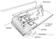 Router Pantograph Plans - Router Tips, Jigs and Fixtures - Woodwork, Woodworking, Woodworking Tips, Woodworking Techniques