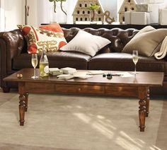 Tivoli Coffee Table - Tuscan Chestnut Stain